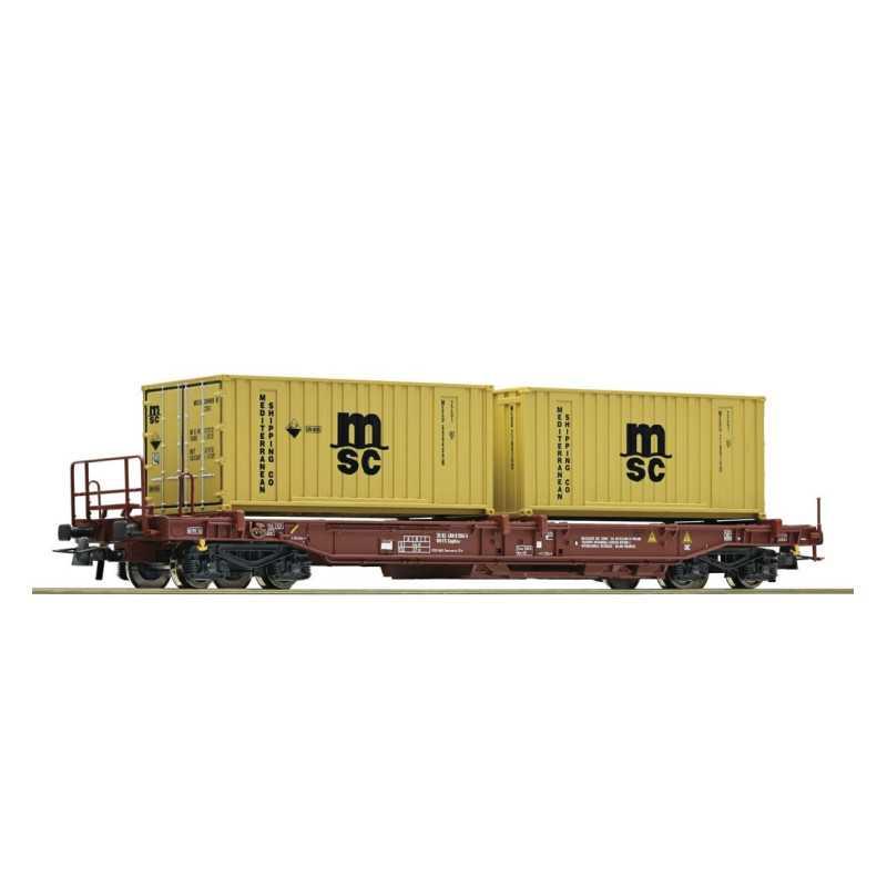 Vagão de transporte de contentores, FS