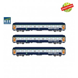 Set Carruagens Cama SNCF WASTEELS