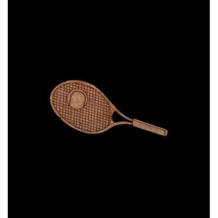 Raquete de Ténis com bola