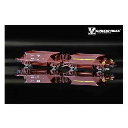 Vagões Balastreiros CP US série 7