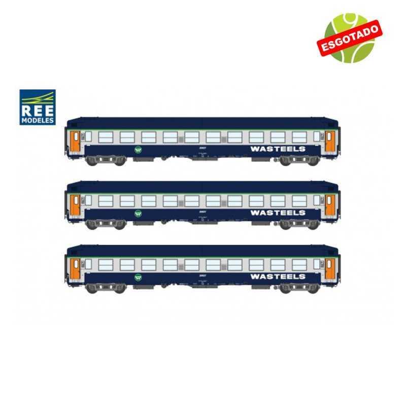 Set Carruagens Cama SNCF WASTEELS