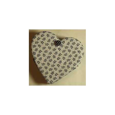 Caixa de Costura em forma de Coração