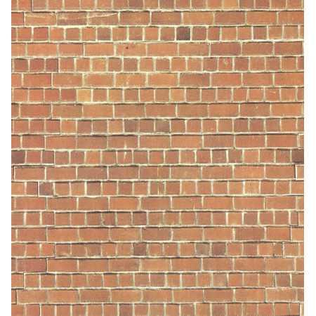 Cartão de Parede em tijolo vermelho