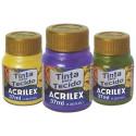 Tinta para tecido metálica 37ml_Acrilex_2,55