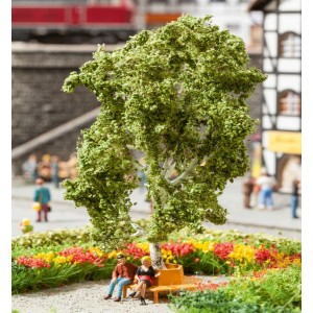 Árvore com banco circular