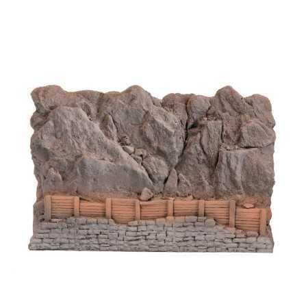 Barreira para queda de pedras
