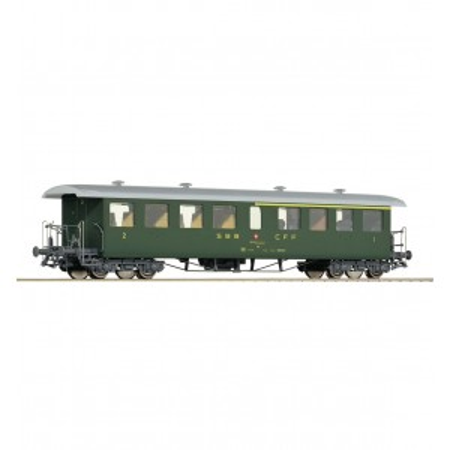 Carruagem da Seetalbahn de 1ª e 2ª classe, SBB