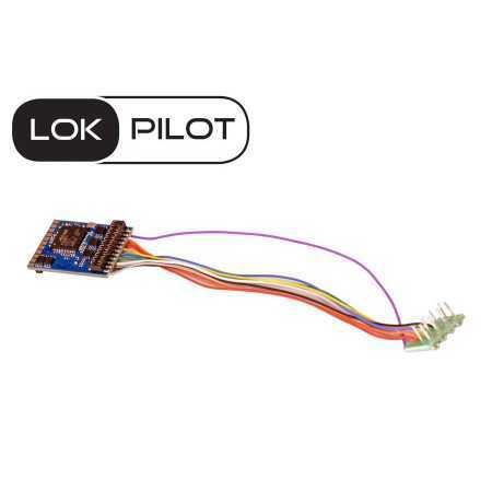 Decoder LokPilot 5 DCC 6pin...