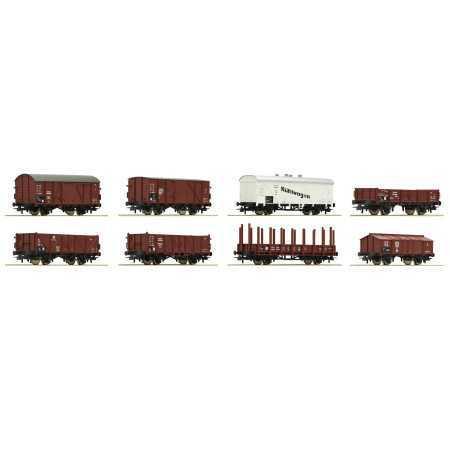 8 Vagões de carga