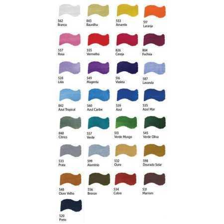 Metal Colors 60ml Acrilex