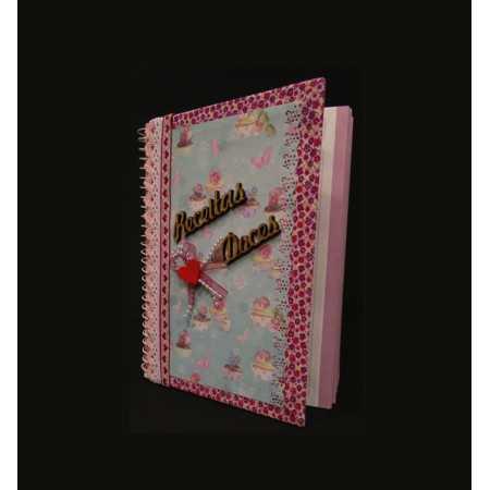 Caderno para Doces Receitas